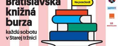 Bratislavská knižná burza 2021 Stará tržnica 28.8.2021